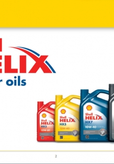Shell Hellix (Lubricantes para motores nafta)